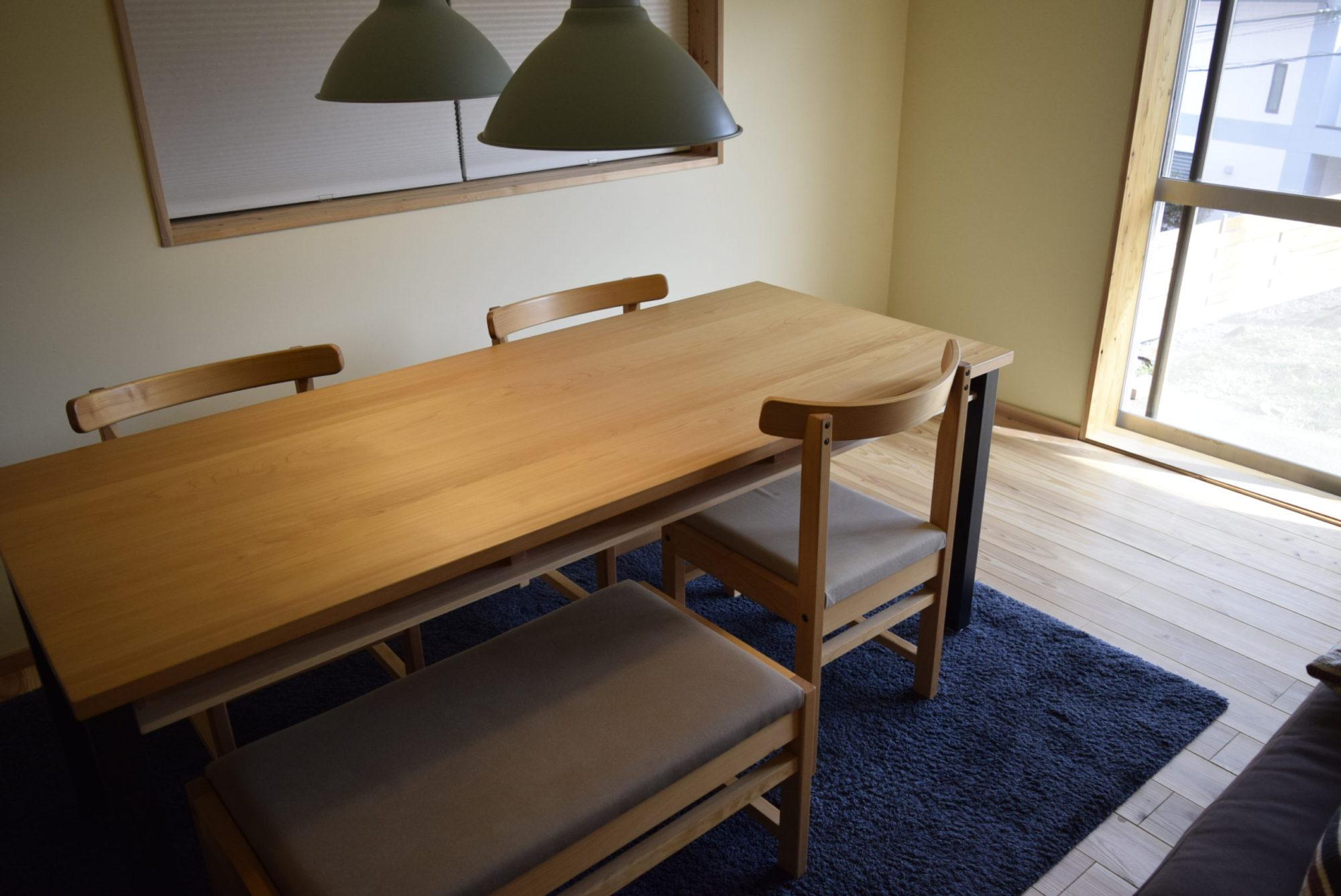 ダイニングテーブル|注文家具|オーダー家具|HINOKI BASE ヒノキベース